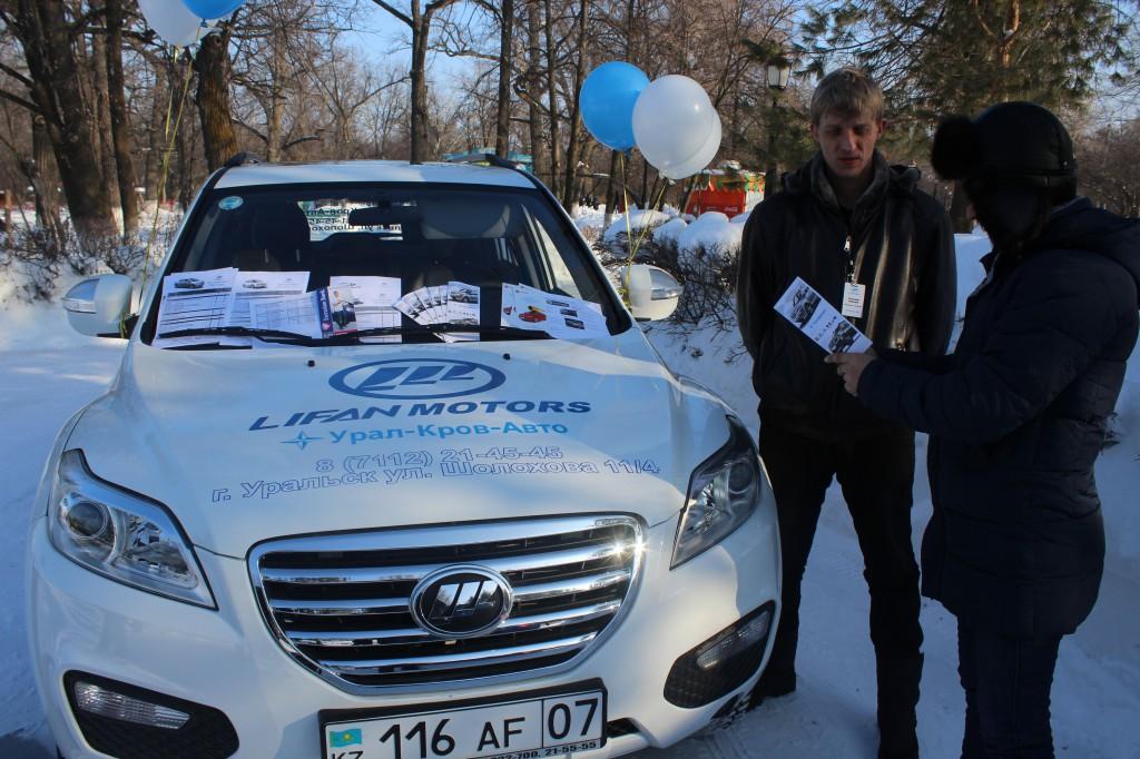 Компания «Урал-Кров-Авто» поздравила уральцев с Масленицей 5