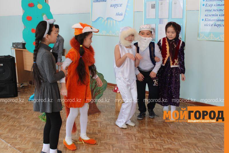 В Уральской школе дети показали сценку про лису-вымогательницу lisa_vymogatel5