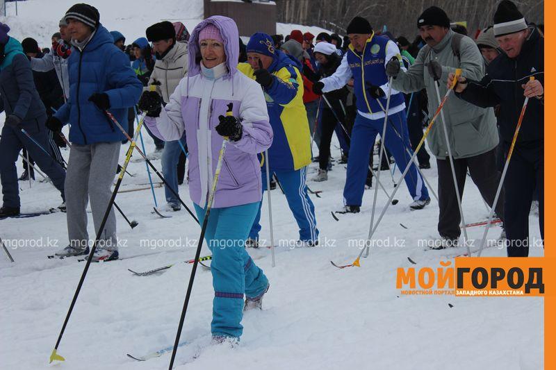 Новости Уральск - Уральцев приглашают на массовый лыжный забег