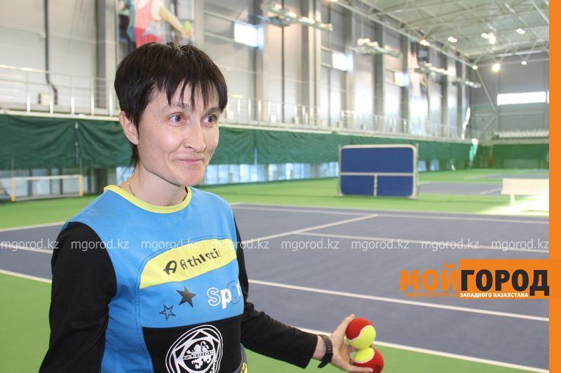 Уральских детей обучает теннису тренер из Украины Тренер Галина БОРОДИНА
