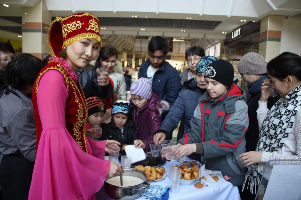 Компания «Урал-Кров-Авто Плюс» поздравила уральцев с весенним праздником Наурыз 1