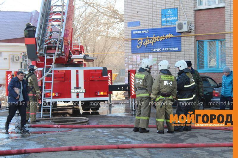 В Уральске из загоревшегося общежития эвакуировали 20 человек pojaromega (1)