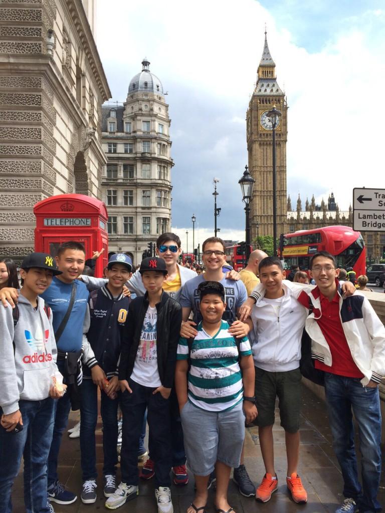 Летние каникулы в Англии c Destination 13