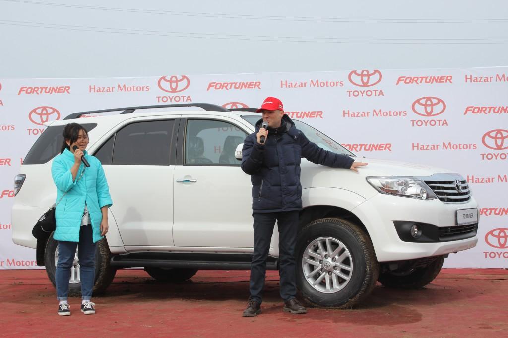 Toyota Fortuner – рожденный в Казахстане 2