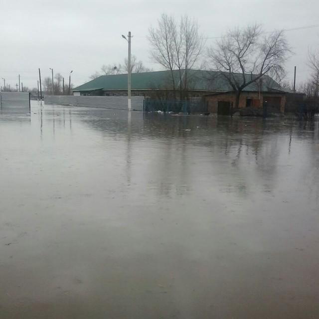Новости Актобе - Карагандинская область уходит под воду (фото, видео) В результате обильного таяния снега затопило город Абай, а в поселке Мырза, что в 90 км от Караганды, люди передвигаются на лодке.  @mira150680