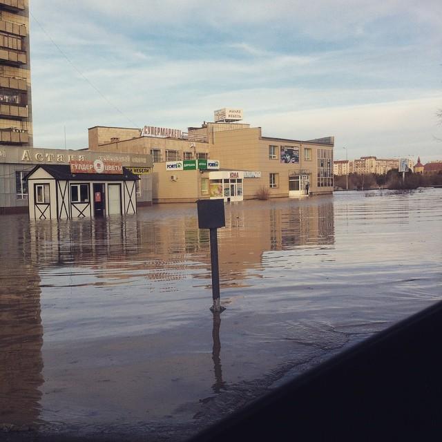 Новости Актобе - Карагандинская область уходит под воду (фото, видео) @in_da_krg