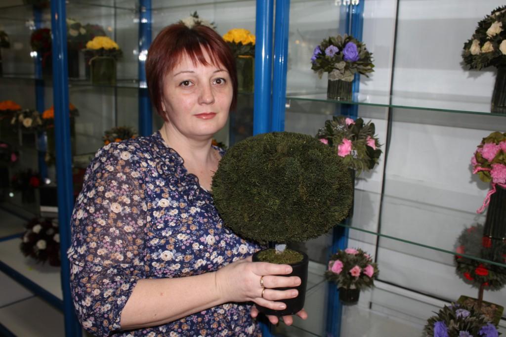 В Уральске открылся магазин необычных цветов 7