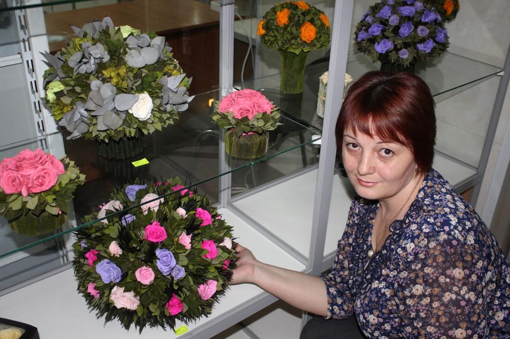 В Уральске открылся магазин необычных цветов 8