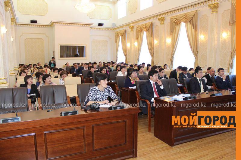 Журналистов «МГ» не пустили в акимат на антикоррупционнное совещание akimat (1)