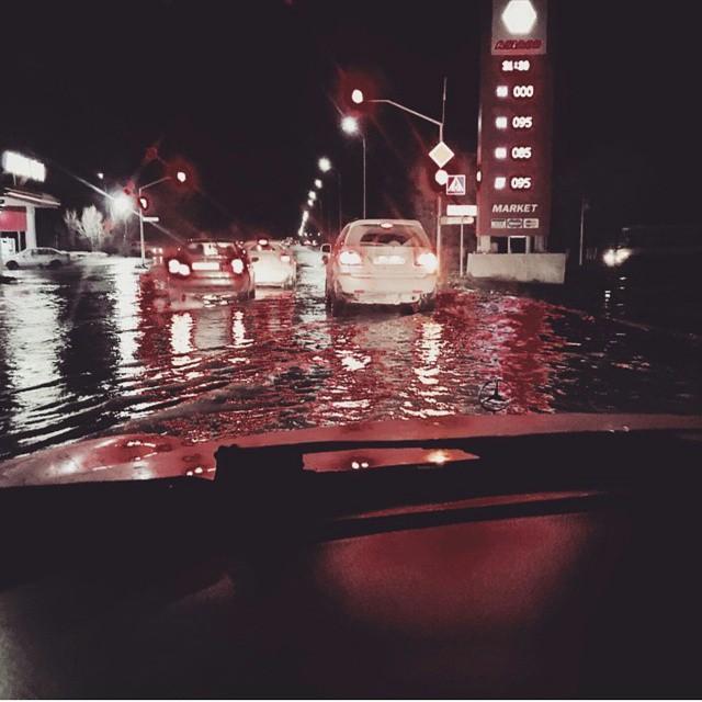 Новости Актобе - Карагандинская область уходит под воду (фото, видео) @kavleona_avto