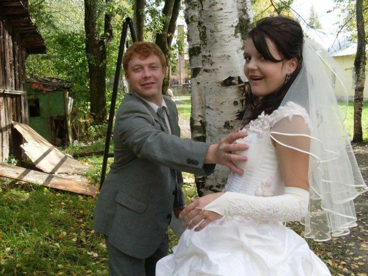 Русская невеста изменила мужу на свадьбе 2 фотография