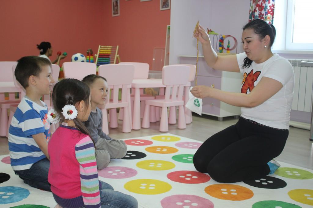 В Уральске открылся «Бэби-клуб» для малышей 3