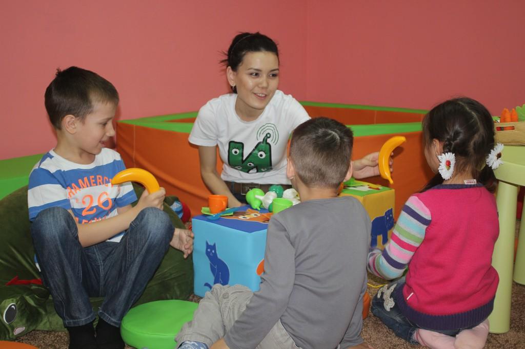 В Уральске открылся «Бэби-клуб» для малышей 4