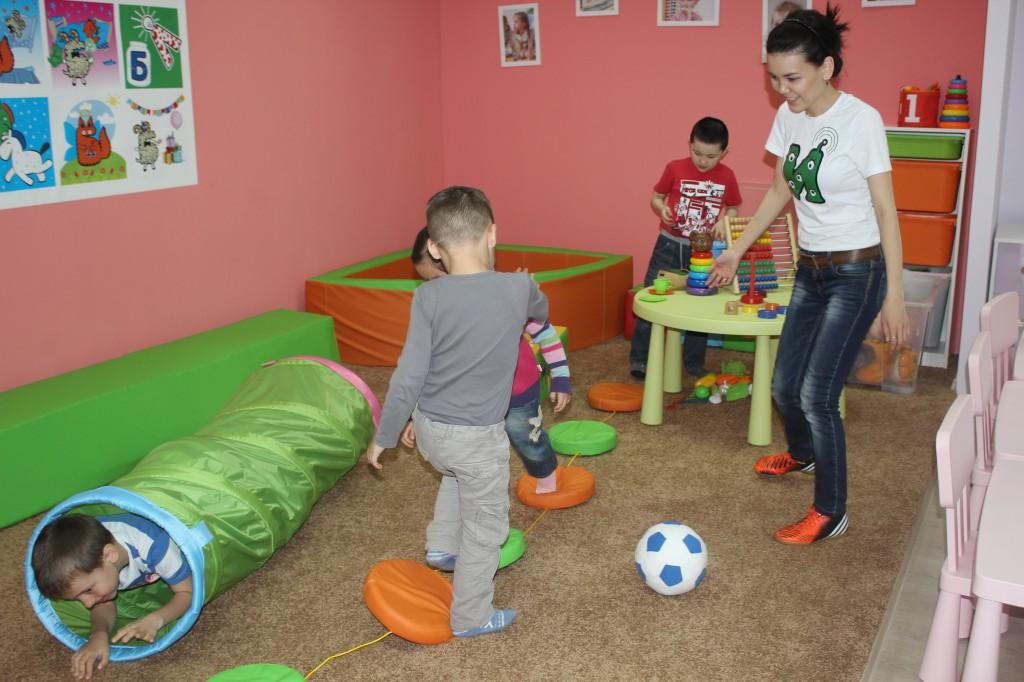 В Уральске открылся «Бэби-клуб» для малышей 7