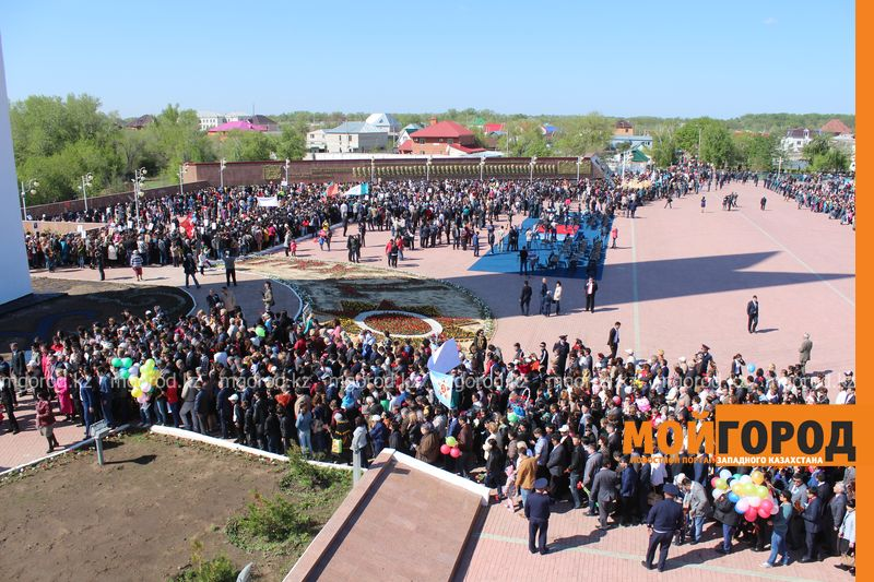 В Уральске отпраздновали 70-летие великой Победы IMG_8069 [800x600]