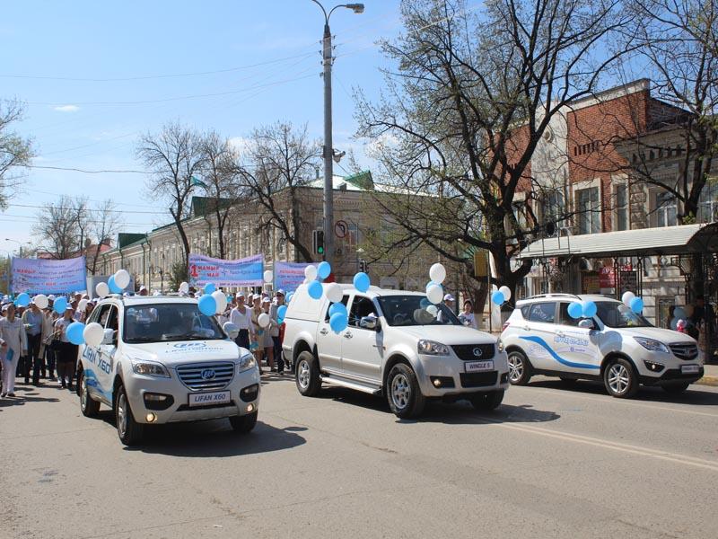 Сотрудники компании «Урал-Кров-Авто» приняли участие в первомайском шествии pervomai0598