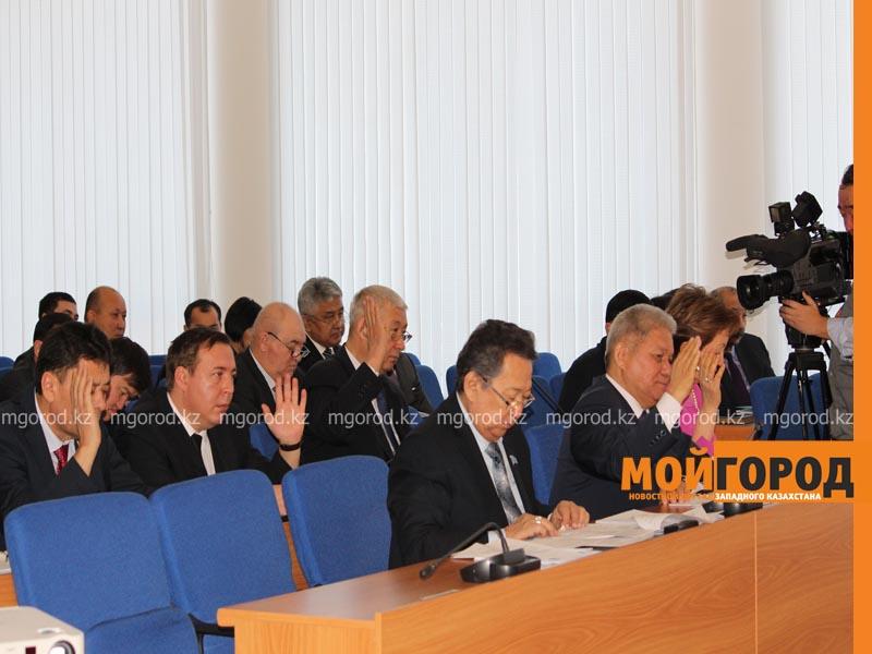 """Назарбаев прислал письмо депутатам маслихата ЗКО Фото из архива """"МГ"""""""
