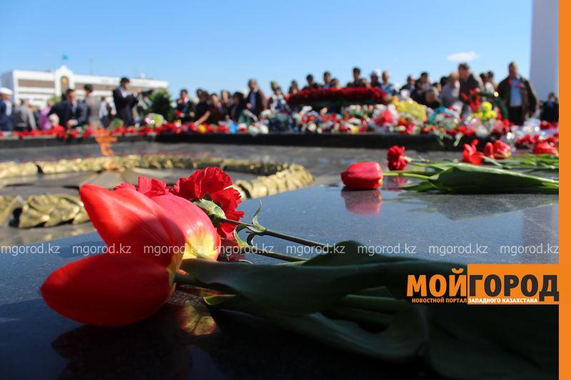 В Уральске отпраздновали 70-летие великой Победы pobeda12