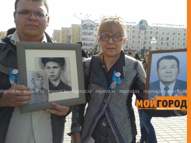 """Более 400 человек приняли участие в акции """"Бессмертный полк"""" в Атырау polk11"""