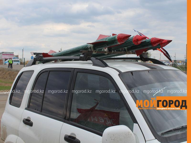 Новости Уральск - Уральские автолюбители пытались устроить автопробег, несмотря на запрет probeg11