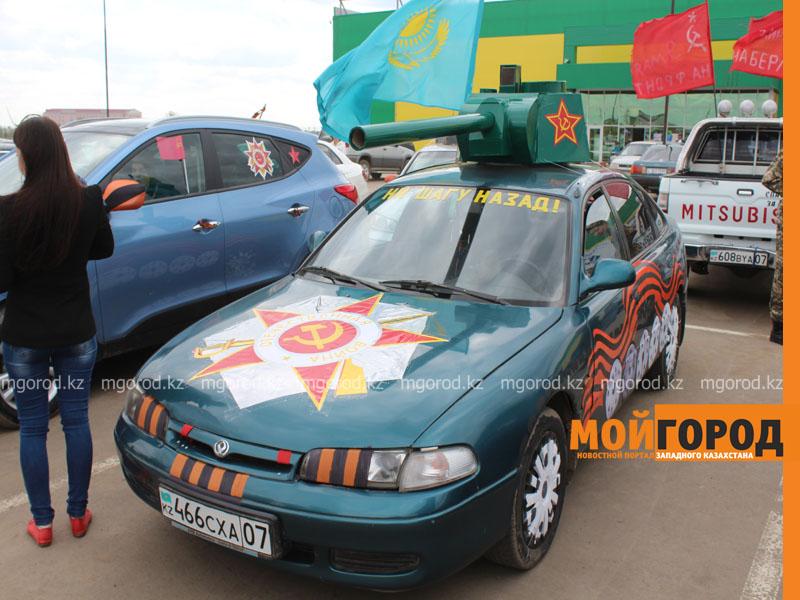 Новости Уральск - Уральские автолюбители пытались устроить автопробег, несмотря на запрет probeg15