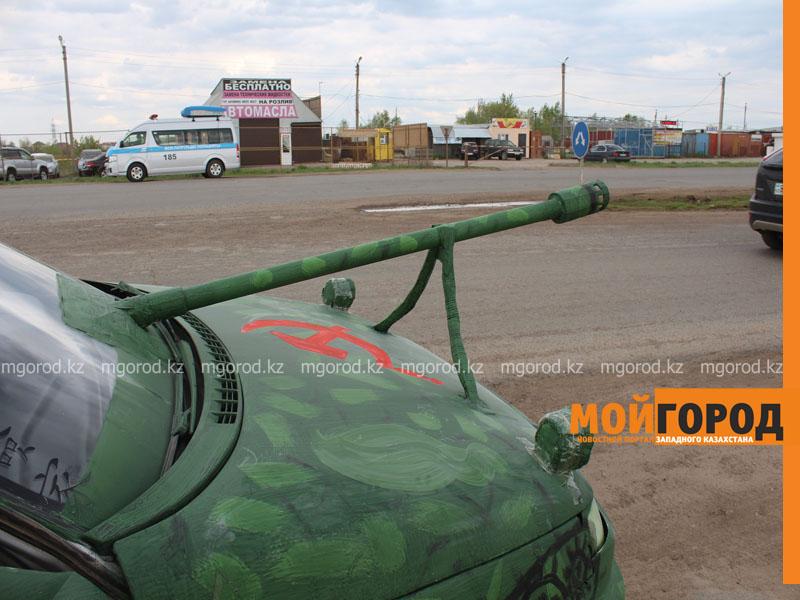 Новости Уральск - Уральские автолюбители пытались устроить автопробег, несмотря на запрет probeg5