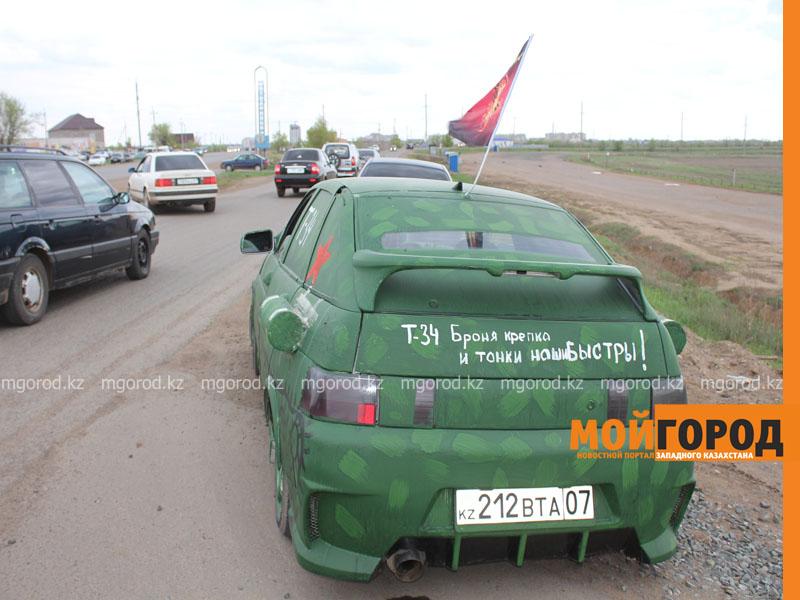 Новости Уральск - Уральские автолюбители пытались устроить автопробег, несмотря на запрет probeg6