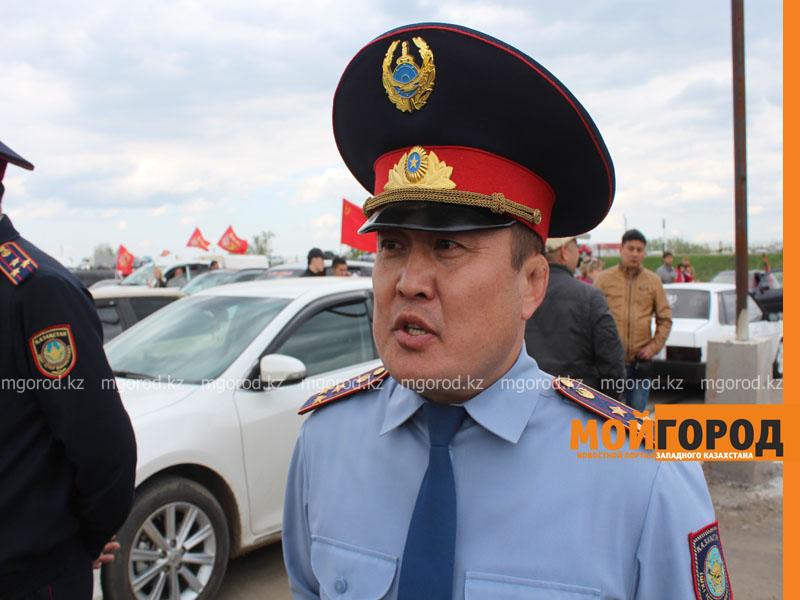 Новости Уральск - Уральские автолюбители пытались устроить автопробег, несмотря на запрет probeg7