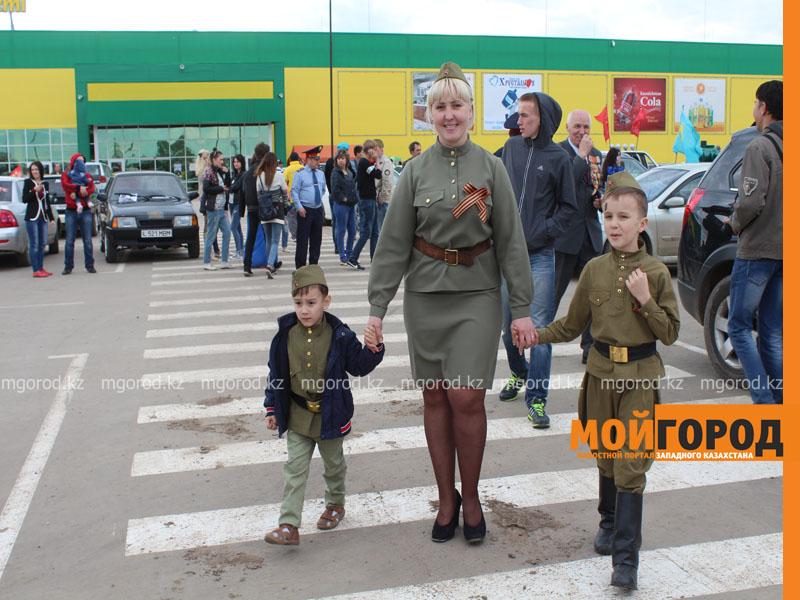 Новости Уральск - Уральские автолюбители пытались устроить автопробег, несмотря на запрет probeg9