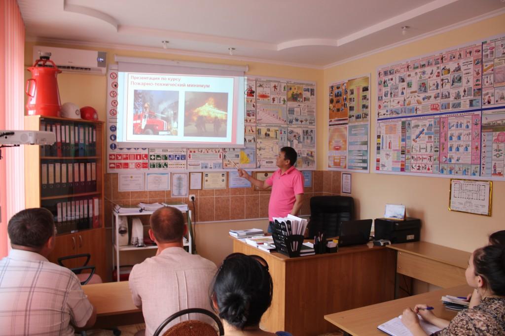 Компания «ӨртҚорғау» предлагает услуги по пожарной безопасности 6