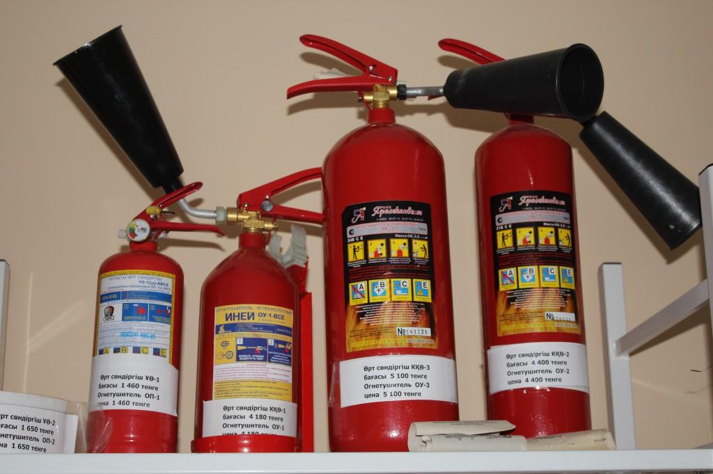 Компания «ӨртҚорғау» предлагает услуги по пожарной безопасности 8