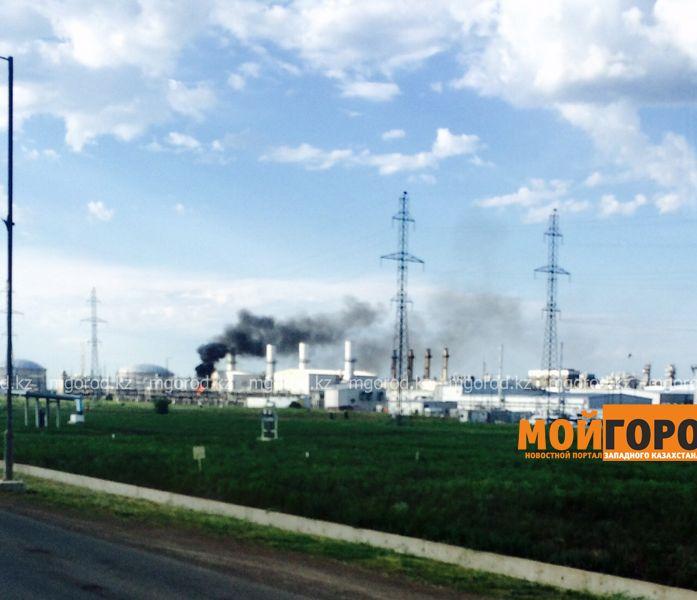 На месторождении Карачаганак в ЗКО произошел пожар (видео)  IMG_7404 [800x600]