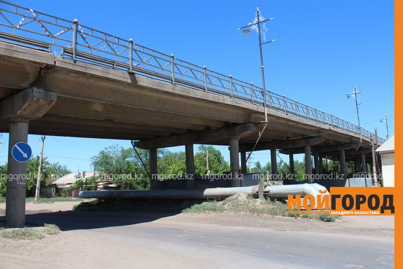 В Уральске заканчивается реконструкция деповского путепровода
