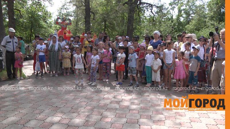 Благоустройство 50 дворов планируется в Уральске park kirova3