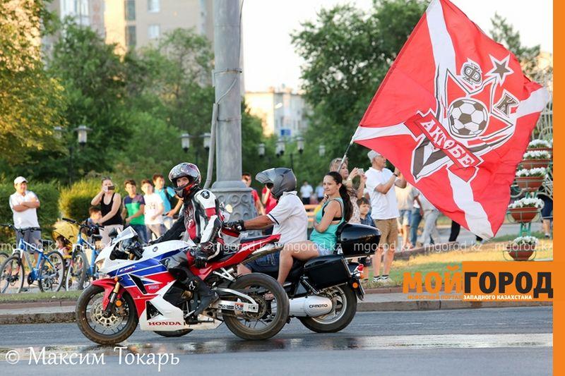 Как фанаты ФК «Актобе» поддержали свою команду (фото, аудио, видео) football (10)