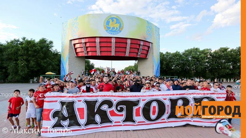 Как фанаты ФК «Актобе» поддержали свою команду (фото, аудио, видео) football (3)