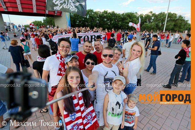 Как фанаты ФК «Актобе» поддержали свою команду (фото, аудио, видео) football (4)