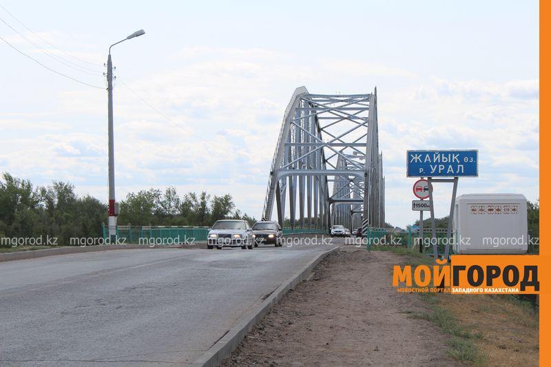 В Атырау на ремонт закроют центральный мост