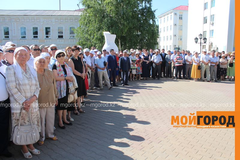 В последний путь проводили журналиста-фронтовика Бисена ЖУМАГАЛИЕВА в Уральске panihida (11)