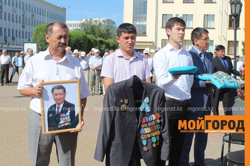 В последний путь проводили журналиста-фронтовика Бисена ЖУМАГАЛИЕВА в Уральске panihida (7)