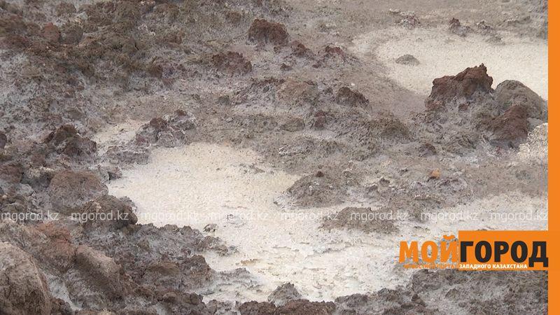 Транспортная компания рассказала, как утилизируется буровой шлам в ЗКО shlam (3)