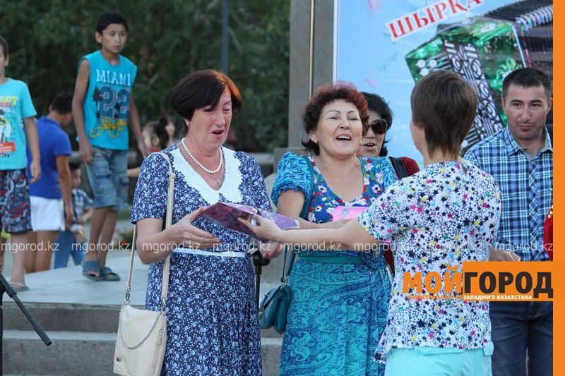 Гармонь-party и домбыра-party одновременно провели на площади в Уральске dombra (1)