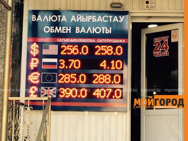 Новости Уральск - В Уральске доллар продают по 258 тенге tablo