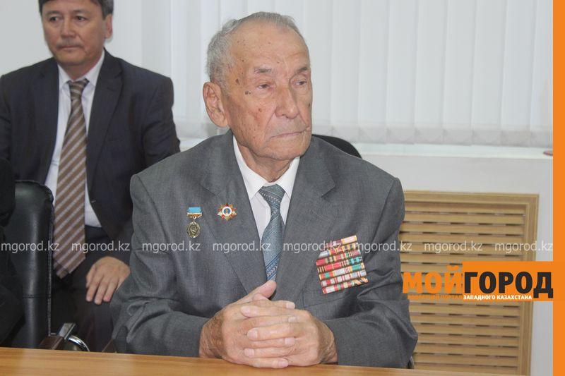 В Уральске скончался ветеран ВОВ Хамза Сафин 90-летний ветеран ВОВ Хамза Сафин призвал беречь мир