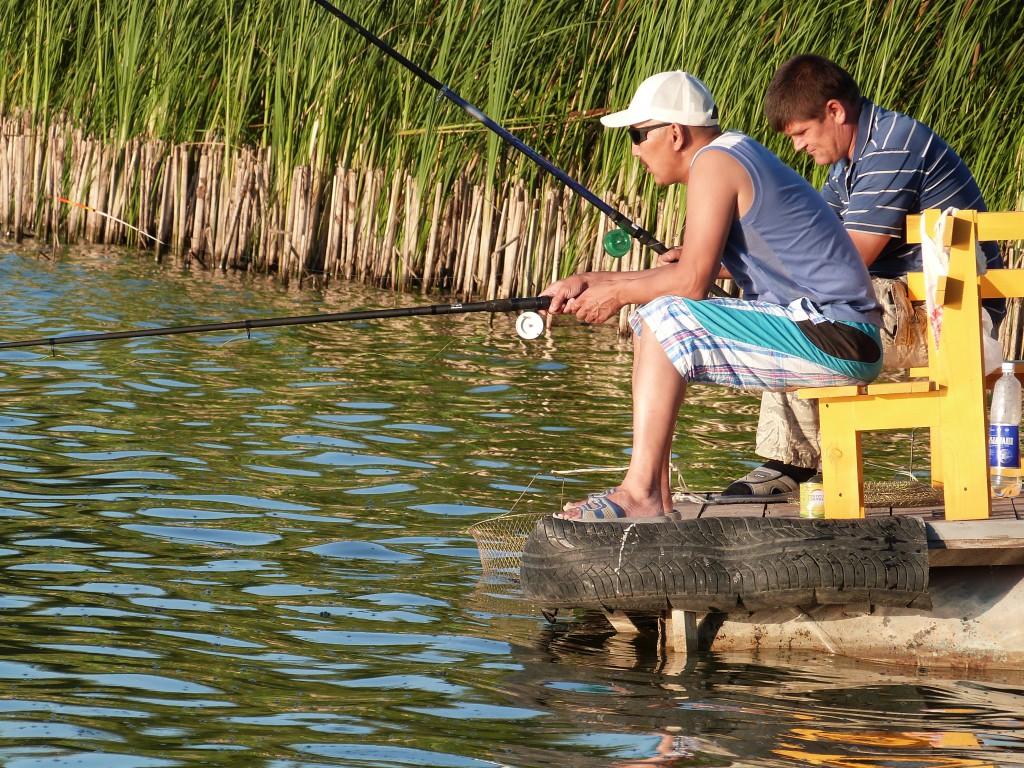 рыбалка видео в уральске