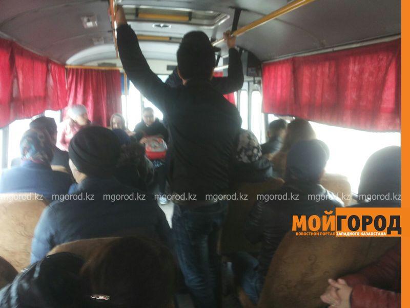 Новости - Качество пассажирских перевозок на общественном транспорте проверил аким Уральска IMG-20151023-WA0027 [800x600]
