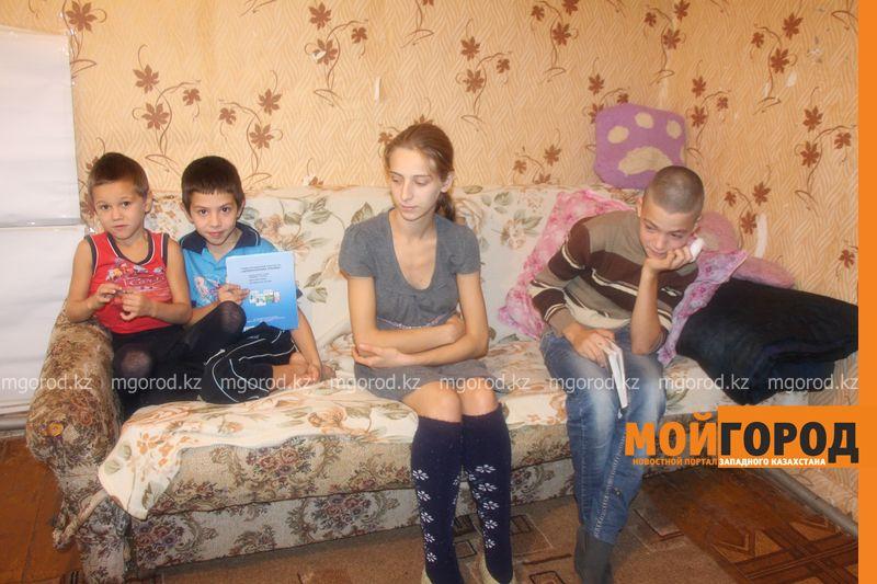 В Уральске мать с пятью детьми скитается по съемным домам IMG_3947 [800x600]