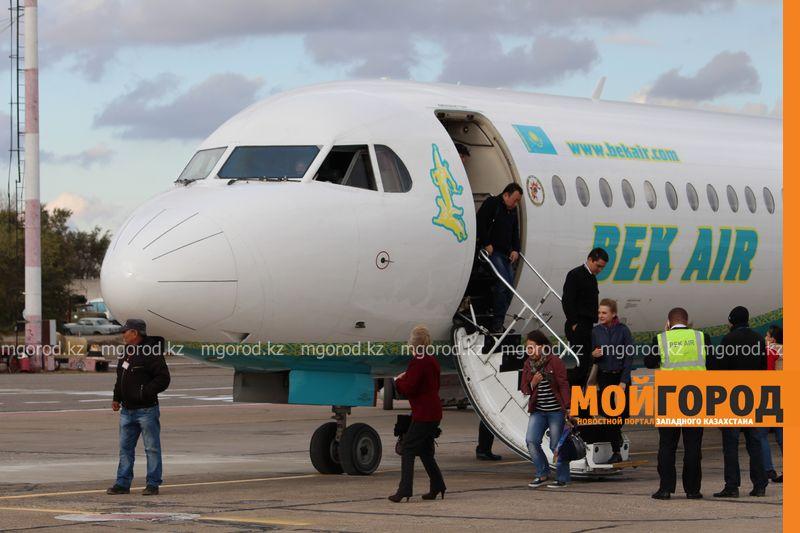 В Атырау время ожидания авиарейсов пришлось увеличить
