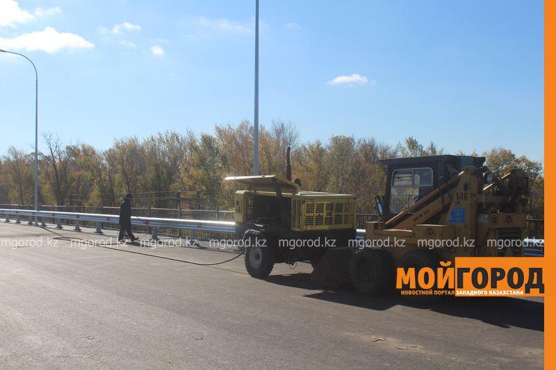 Новости Уральск - Открытие моста в Деркул задерживается из-за доставки деформационных швов most (4)
