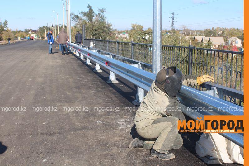 Новости Уральск - Открытие моста в Деркул задерживается из-за доставки деформационных швов most (5)